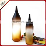 Manufacturers selling cheaper European style furniture decoration mouth blown glass vase in Liaoning