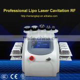 High energy 650nm lipolaser slimming machine/lipo laser cavitation rf weight loss for sale