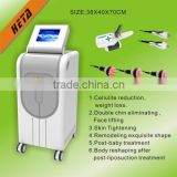 Heta H-3007E Newest cool cryotherapy skin tighten rf machine for cellulite reduction fastest weight loss
