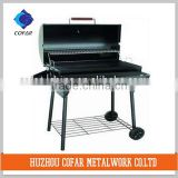 BBQ grill,charcoal bbq grill,barrel smoker,stainless,barbecue smoker/oven