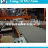 economic price of exterior wall panels fiber cement board siding machine