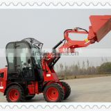 AS908 electri carticulated mini wheel loader for sale Hydraulic 4x4 drive axles