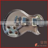 clear acrylic guitars_custom acrylic guitars