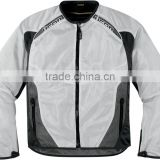 Custom Men Motorbike Textile Leather Jacket 600D Motorcycle Cordura Jacket