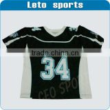 mens Mesh Wicking Material American Football Jersey