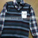 Classic Style Checked Wholesale Thermal Shirts for Man