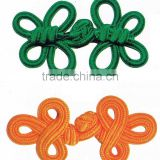 traditional knotted Chinese buttons