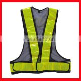 cheap clothing class 3 strap safety vest reflective