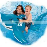 Friendly inflatable Shark Ride On Float
