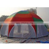 Inflatable tent,spider tent, rainbow tent (with net door)
