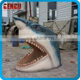 Handmade High Simulation 3D Fiberglass Shark Mouth