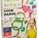 DIY fashion rainbow loom bands and bracelrts for kids