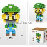 Loz iblock Fun Mini Building Blocks Enlighten Bricks Gift Figure Super Mario Fiery Dragon