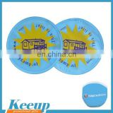 Advertising 190T Polyester frisbee for promotional gifts