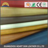 hot selling pvc embossed leather two tone color for doing handbags