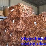Copper scrap wire Chinese supplier high purity 99.99%