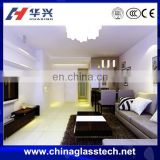 Size Customized sound insulation China brand laminated glass bedroom wardrobe sliding door design