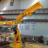 HAOYO Marine Crane chinese 20 ton high efficiency hydraulic different types of ship cranes