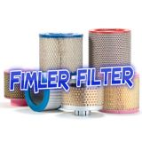 Replacement Vacuum Pump paper filter cartridge for dust filter F-2001-C, F-1001-C, 500005632, 500000314