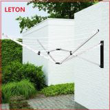 2020 Hot Selling Outdoor Umbreller Type Wall Mounted Foldabled Clothes Drying Rack