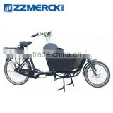 Steel Frame One Person Electric Open Cago Bicycle                                                                         Quality Choice