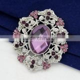 wholsale fashion silver gold crystal rhinestone diamond pearl enamel flower faberge spider lapel silk brooch