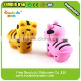 Cute Puzzle 3D Tiger Shaped Eraser