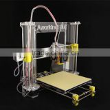 Prusa Reprap i3 Aworldnet 3D printer DIY kit A600 impressora 3D 1.75mm 2 roll PLA filaments and LED flashlight FREE given