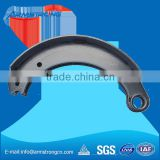 Proper hardness strength good fade resistance bare brake shoes work display