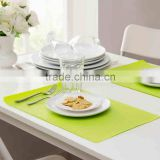 kids table mat/hotel dinner placemat/PVC material table liner
