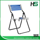 China supplier blue bungee cord visitor office chair