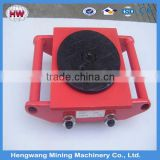 6T 18T 24T Hand Cargo Trolley/Small Tank Trolley with Alloy Steel or PU Wheel