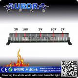 Aurora 50 inch dual row 10W&3W hybrid light auto lighting system truck led lights                                                                         Quality Choice