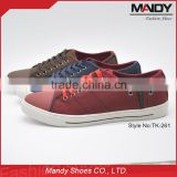 Factory cheap price new arrival comfortable fabric men shoes wholesale