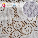 wholesale cheap flower embroidered 100 polyester lace fabric accessories machine for dress for garment