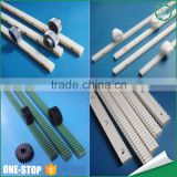 Manufacturer custom cnc machined liner gear rack rail PPS teflon pom nylon plastic rack and pinion gear sets