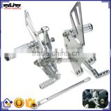 ARS-10R/11 Special Design Forward Control CNC Motorcycle Rearset Parts for Kawasaki ZX10R 2011