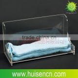 Transparent Acrylic Towels Tray with Customized
