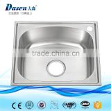 Made in china single bowl material caravan kitchen sink with metal bowl pad                                                                                                         Supplier's Choice