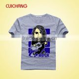 Wholesale high quality fashion 100% cotton tee shirt printing,tee shirt,sublimation tee shirt
