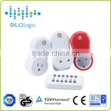 Digital power professional wireless 5 channels remote control switch socket/plug