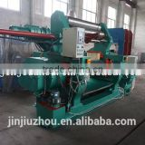 Automatic turn-type open rubber mixing mill / open mixing mill for rubber using in rubber pad production line