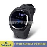 WT-A1 Hot selling L1 Black 1.54 inch HD Touch screen Hands Free Smart wrist Bluetooth Watch bluetooth wrist watch blood pressure