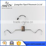 Popular Chrome Metal Clothes Dress Wire Hanger For Laundry                                                                         Quality Choice