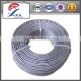 High quality 3mm nylon coated nice 316 stainless steel wire used to bind book and calendar (Factory )