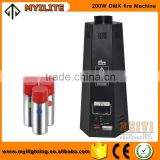 stage 200W Stage/disco/dj/concert dmx flame machine spray fire machine