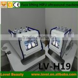 Professional High Frequency Machine Trustworthy Quality Portable HIFU Ultrasound Pigment Removal Face Lift Machine Eye Lines Removal