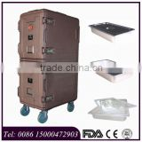 165L plastic food transport container for GN pans for delivery food