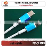 Double Sided Micro USB Data Cable For I6 Samsung USB Superspeed Cable Data Charger USB Cable Colorful