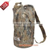 Top quality customized camo nylon boy school backpack bag